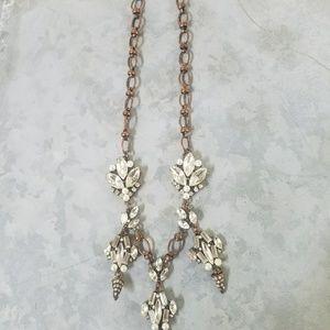 J crew lulu frost necklace